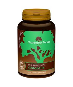 Chlorella BIO (300 tab x 500mg) - Rainforest Foods
