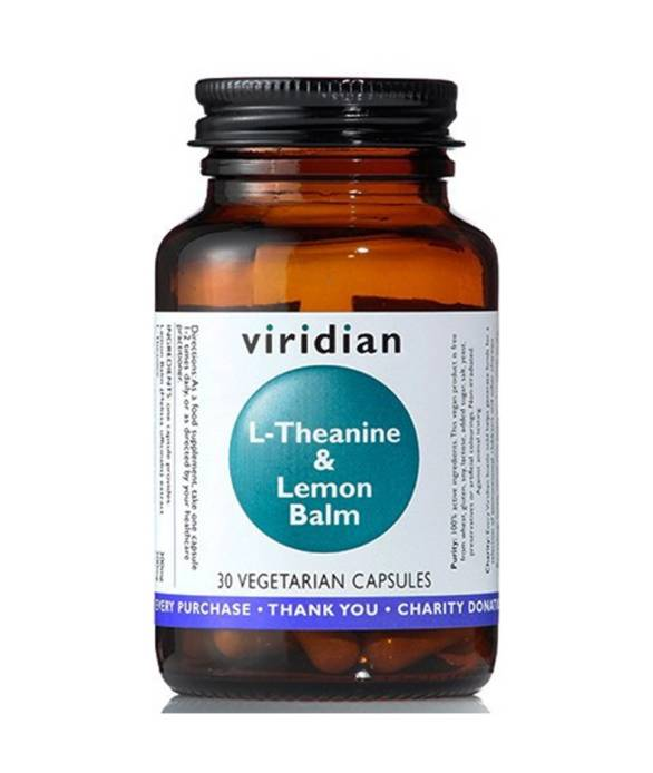L-Theanine and Lemon Balm (30 kaps) - Viridian