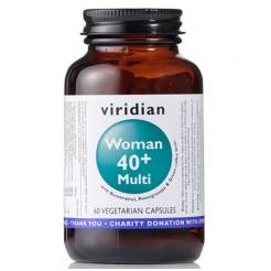 Multiwitamina - Woman 40+ (60 kaps) - Viridian