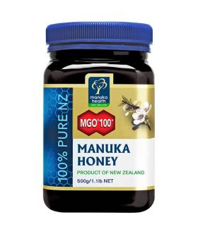 Miód Manuka MGO100+ (500g) - Manuka Health New Zealand