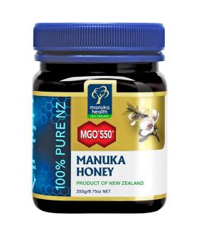 Miód Manuka MGO550+ (250g) - Manuka Health New Zealand