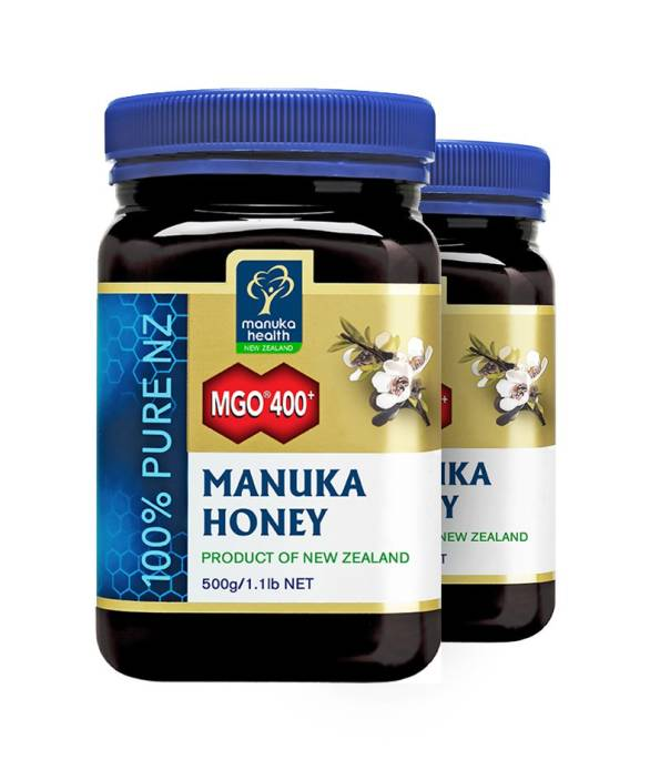 2x Miód Manuka MGO400+ (500g) - Manuka Health New Zealand