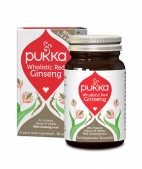 Wholistic Red Ginseng (30 kaps) - Pukka